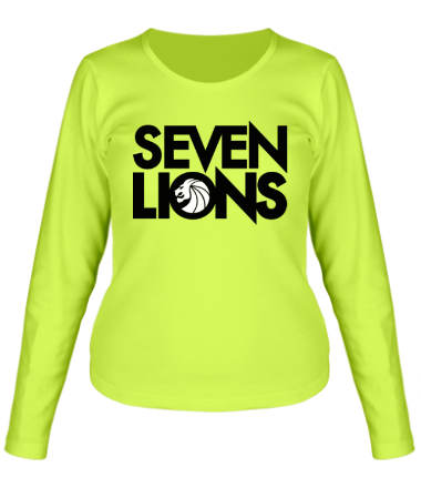 Женская футболка с длинным рукавом 7 Lions