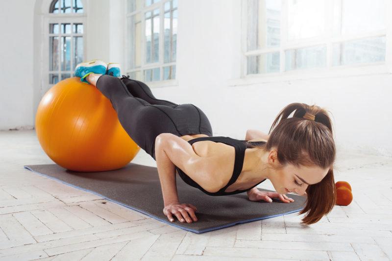 Упражнения в картинках по фитнесу