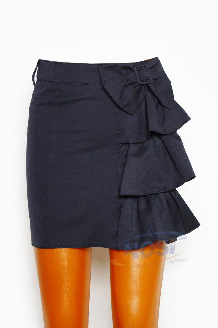 модная строгая юбка для девочки в школу