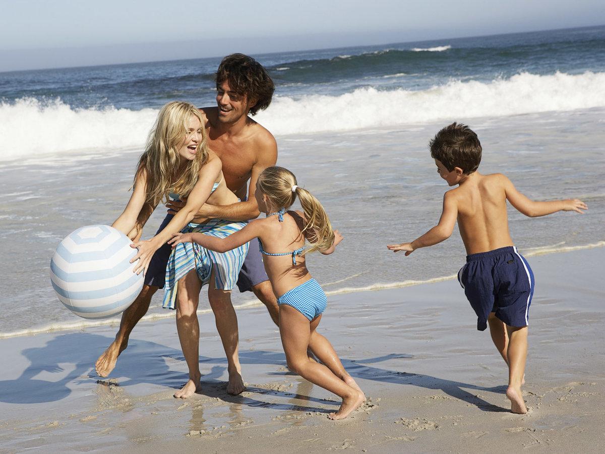 Семья на отдыхе видео 7