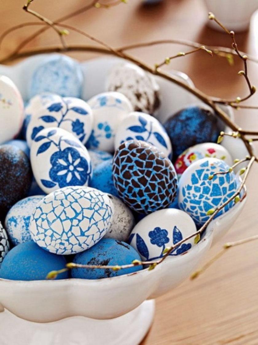 Идеи украшения яиц на пасху с картинками