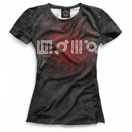 Женская футболка 3D 30 Seconds to Mars