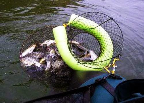 Садки самодельные для рыбалки