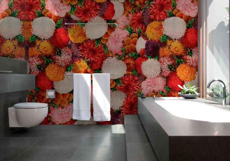 фотообои для для ванной комнаты
