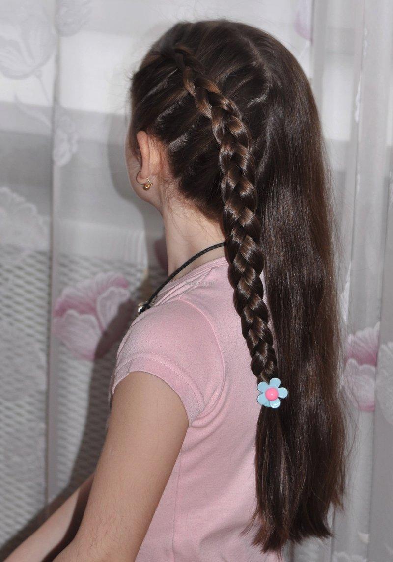 Прически для девочек.плетение кос 63