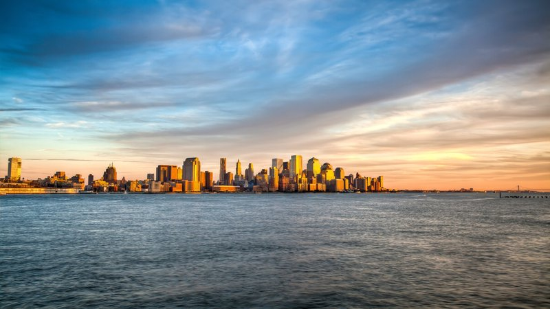 Манхэттэн, размер: 1366x768 пикселей