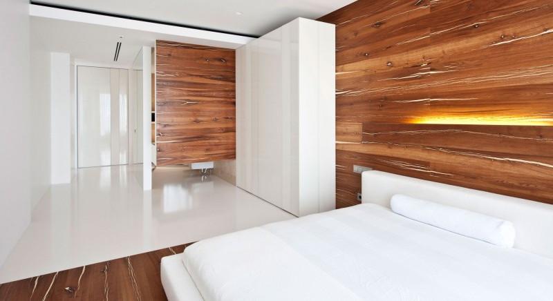 интерьер комнаты из дерева фото