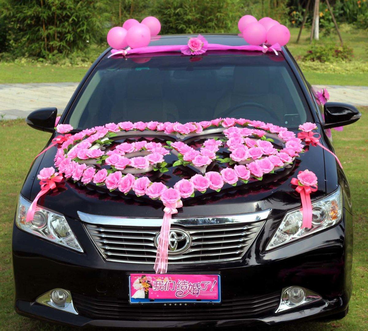 примеру, для свадебные машины украшение клевера один самых