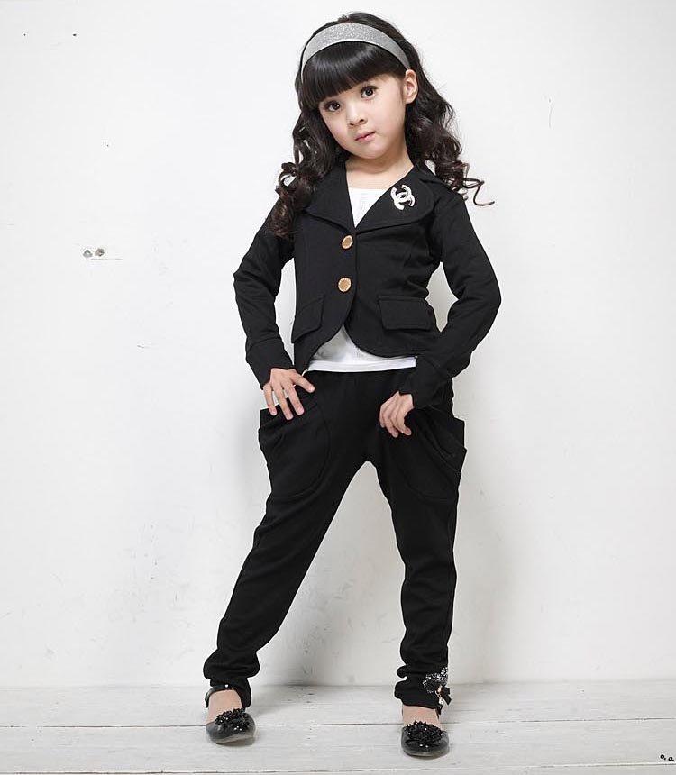 модный костюм в школу для девочек