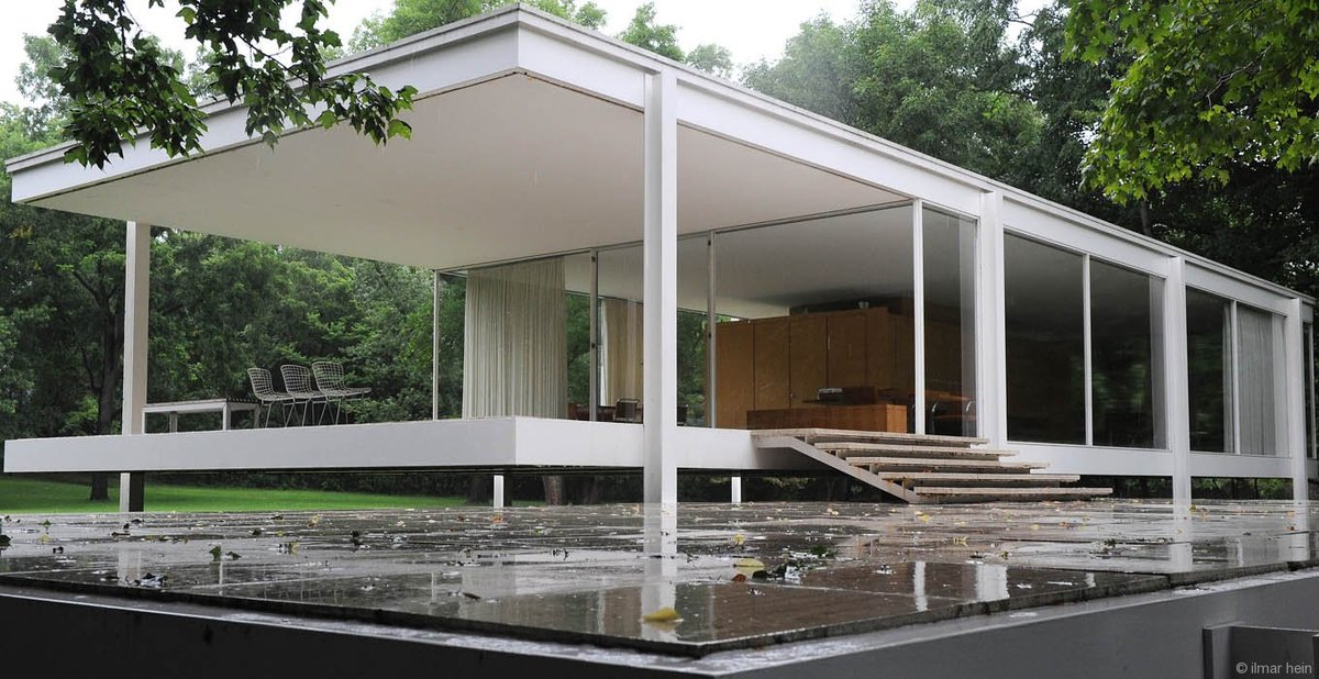 an analysis of the role of technology in modern architecture on the example of farnsworth house by m 1 tittle: attributes of modern architecture and conservation action authors: maciel silva, paula mphill professor of the catholic university of.