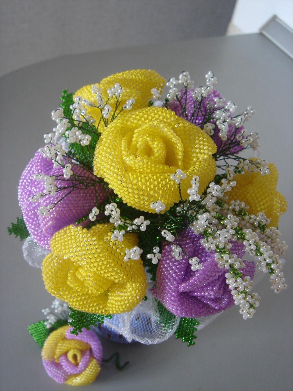 Цветы армавире, букет роз из бисера своими руками