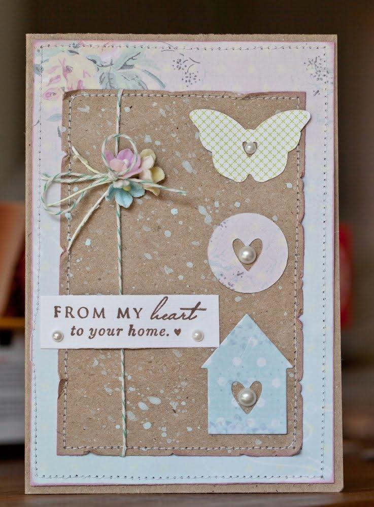 Детей рождество, простые открытки в стиле скрапбукинг