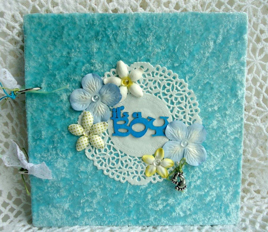 Голубые открытки своими руками, открыток
