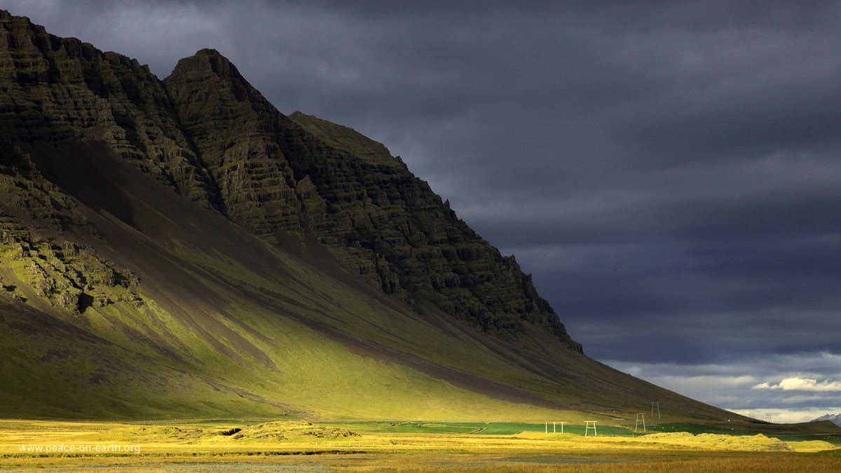 Картинки исландия на рабочий стол