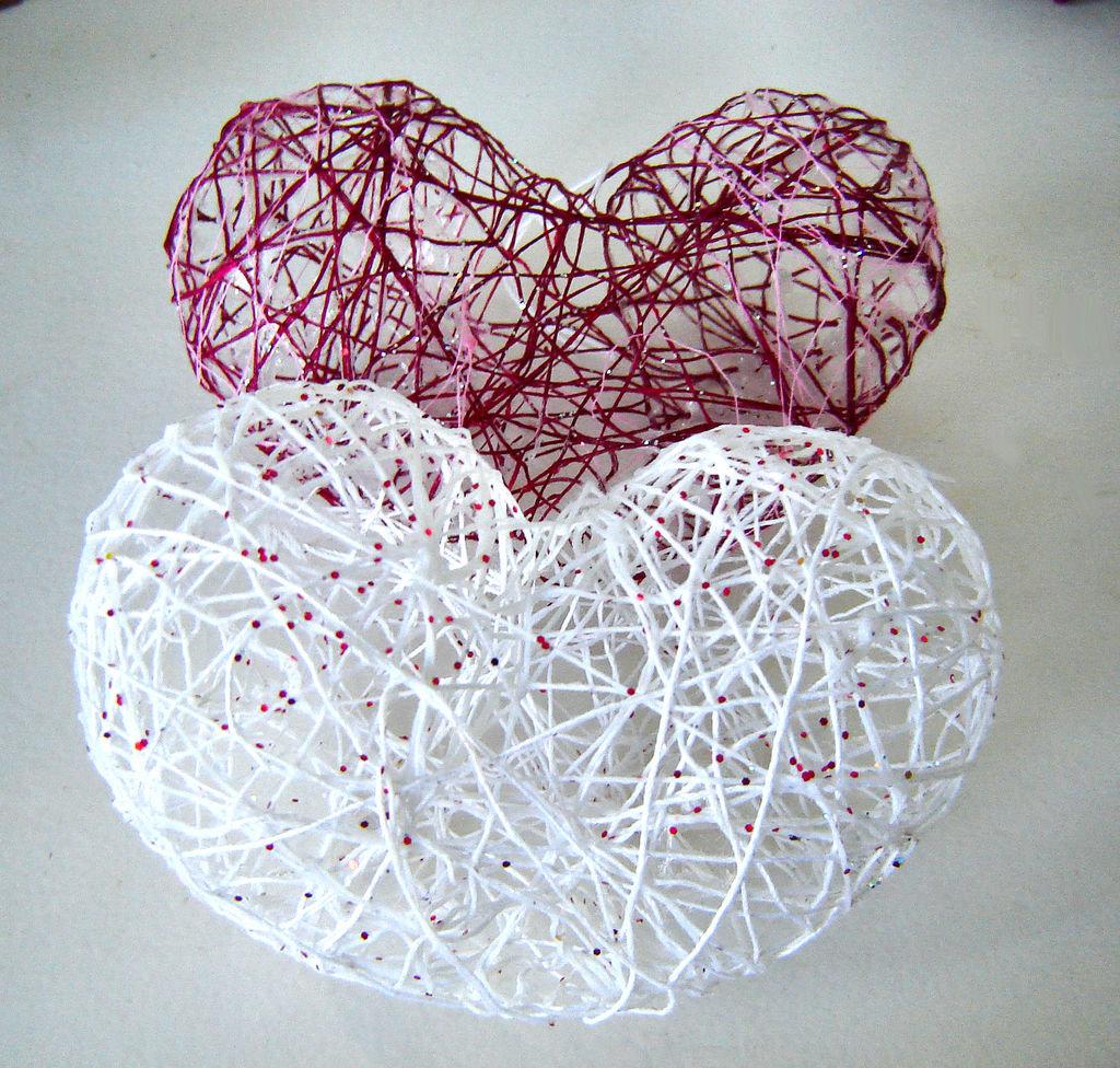 картинки декоративных шариков из ниток и проволоки