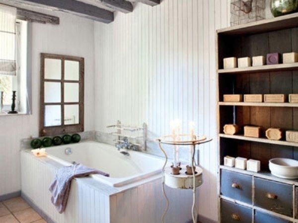 Ванная в стиле шебби шик - новое из забытого старого