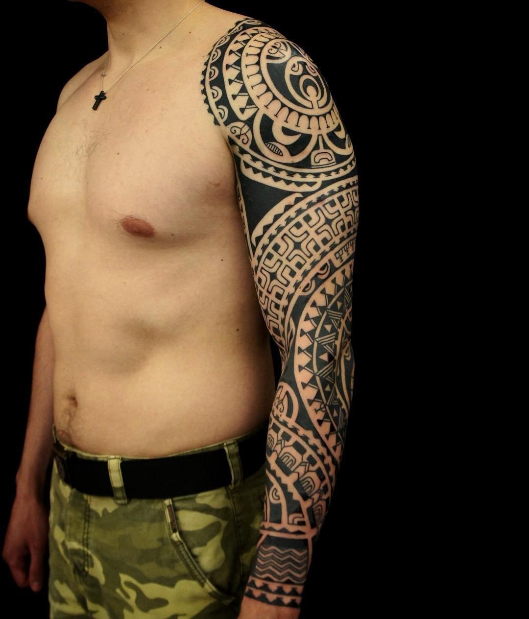 Полинезийский рукав фото