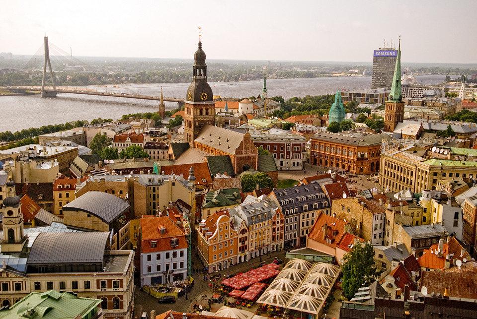 рига старый город фото глазами цвета