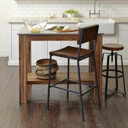Строгий дизайн барного стула