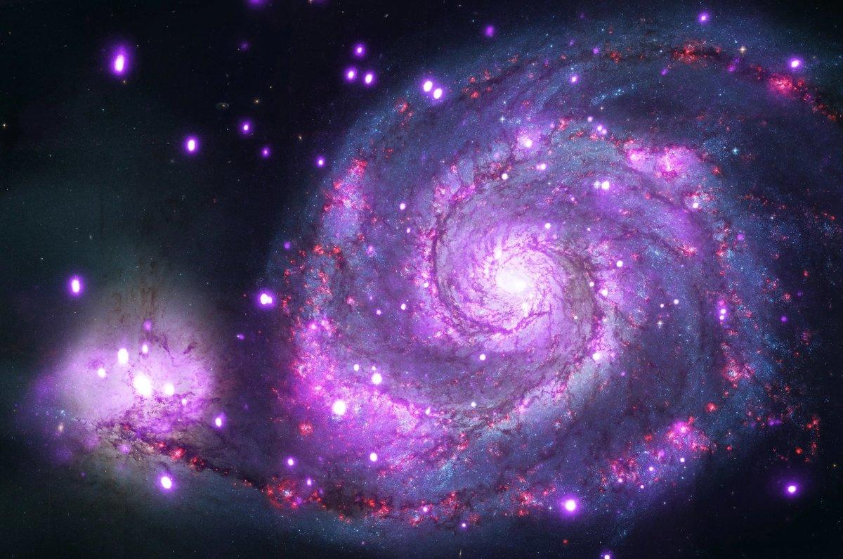 Открытка, картинки галактика