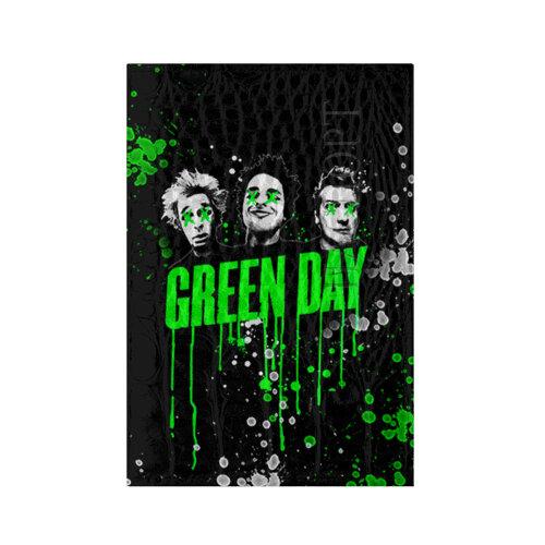 Обложка для паспорта кожа крокодил Green Day