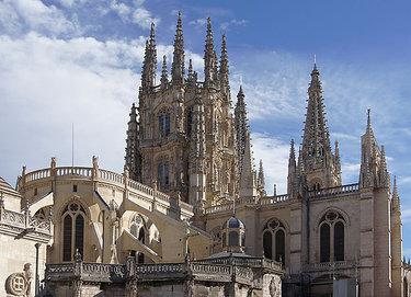 бургосский собор испания