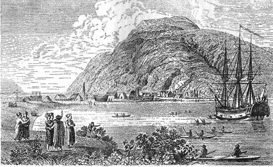 22 сентября 1784 года основано первое русское поселение на Аляске