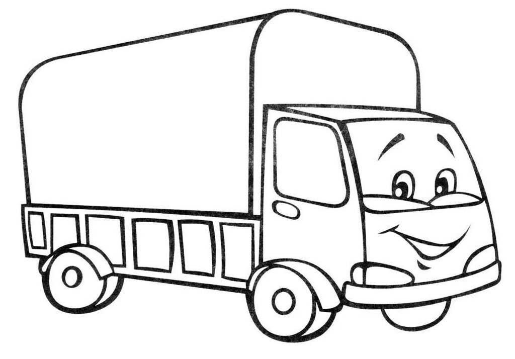 «Раскраски Грузовики для детей 3-10 лет. 33 раскраски с ...