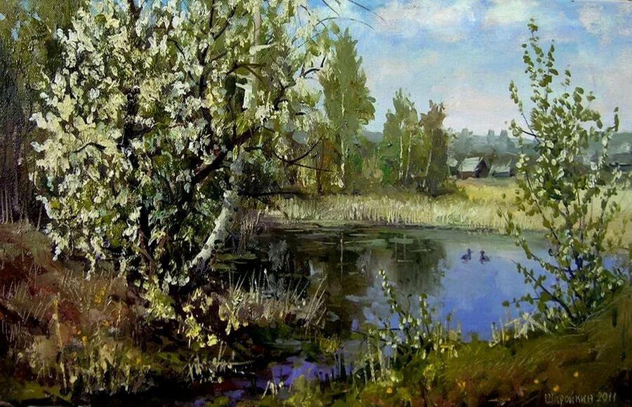 Весна в живописи русских художников картинки