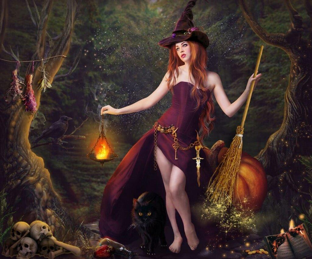 при картинки в виде ведьмы товары будут изготовлены