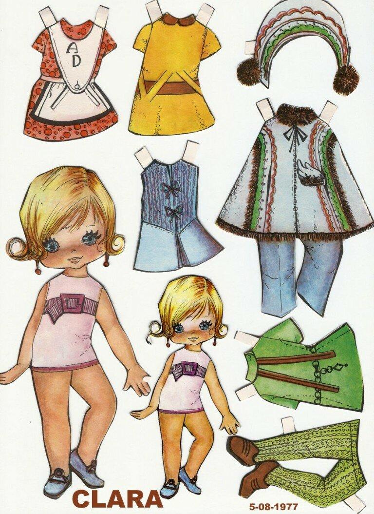 Одежда для бумажных кукол картинки своими руками