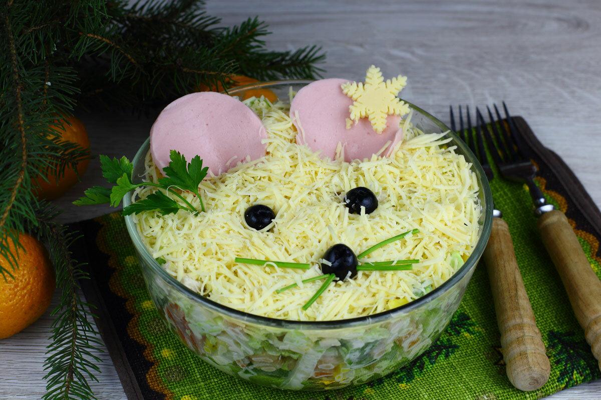украшение новогодние салаты фото рецепт поэтапно можете выбрать интересующий