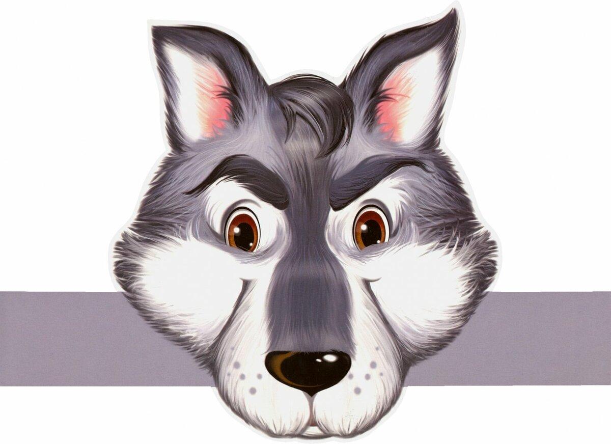 картинки сказочных волков морды