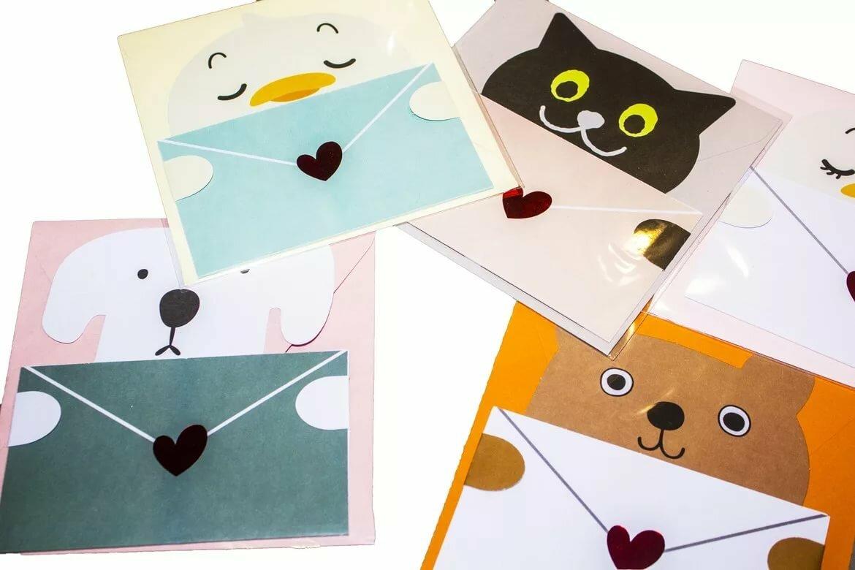 снимок, как сделать конвертики для открытки моделями
