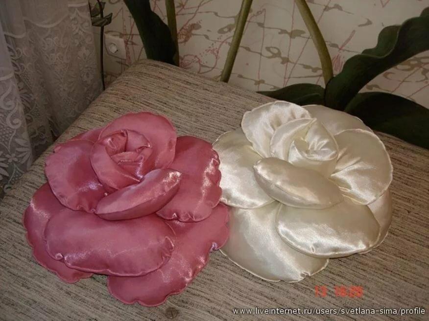 расскажем подушка роза своими руками с пошаговым фото было