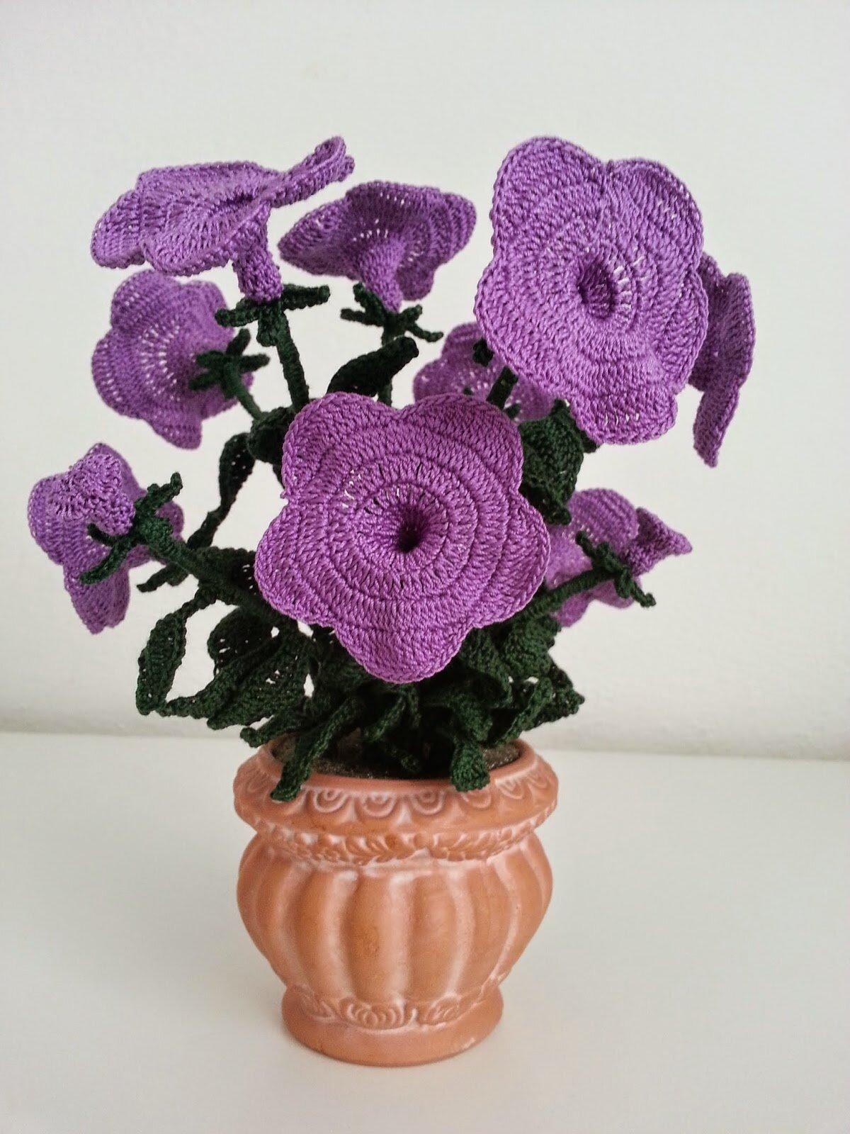 один вязаные цветы из сновидений схемы и фото способны