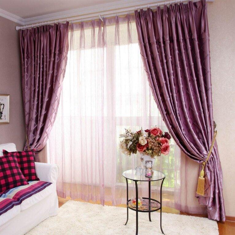 итоге занавески под розовые обои фото рассказывается