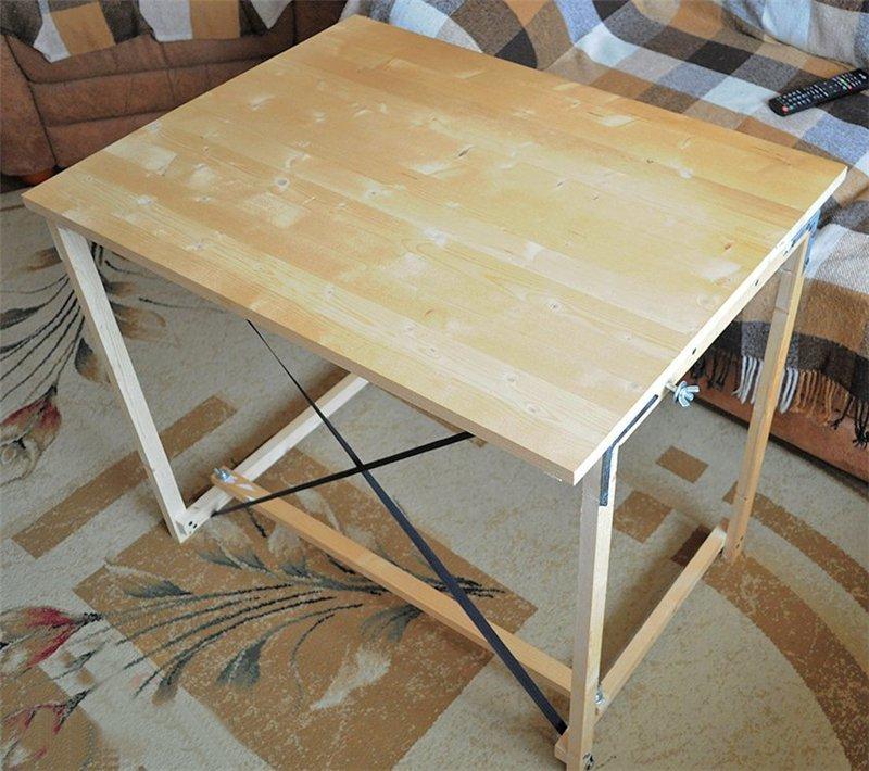 как сделать раскладной столик своими руками фото области