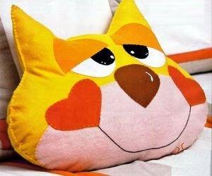 шьём подушку игрушку