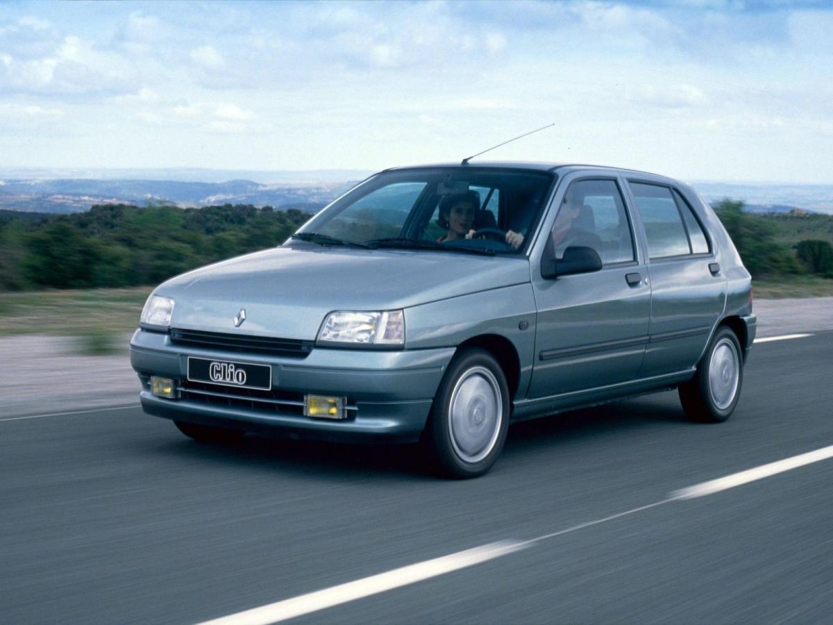 Renault Clio I Хэтчбек 5 дверей