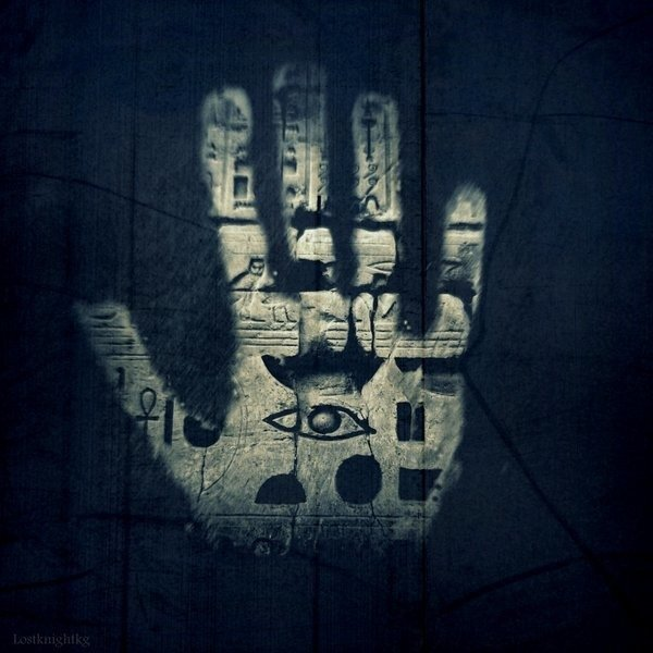 The eye on the hand