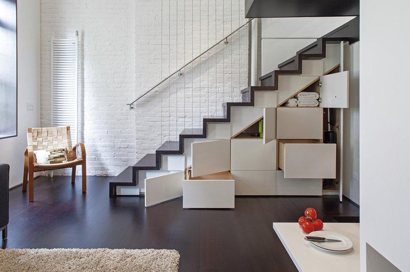 идеи лестницы на второй этаж
