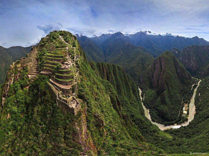 Мачу-Пикчу город на холме