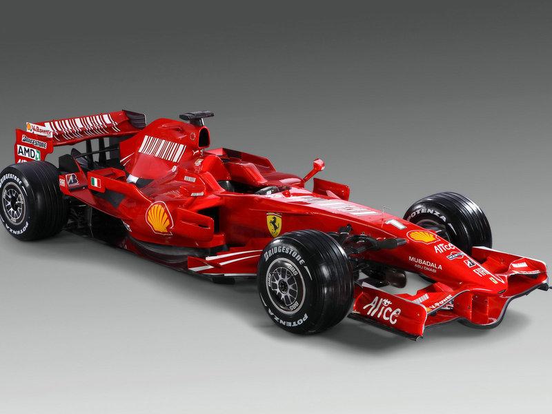 болид, красный, formula-1, Ferrari