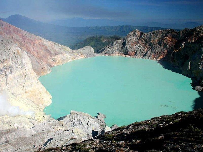 Фото Озеро Иджен