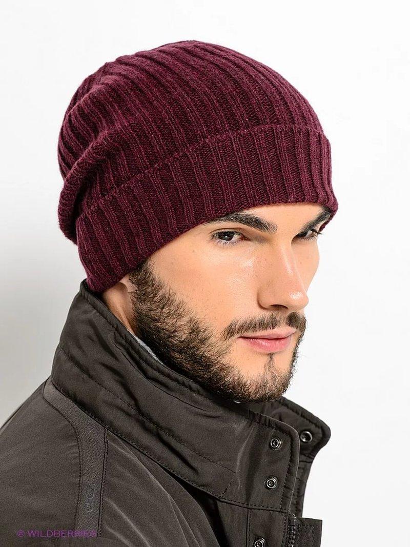 фото вязаные мужские шапки