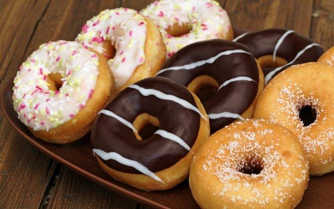 рецепты пончиков с разными начинками