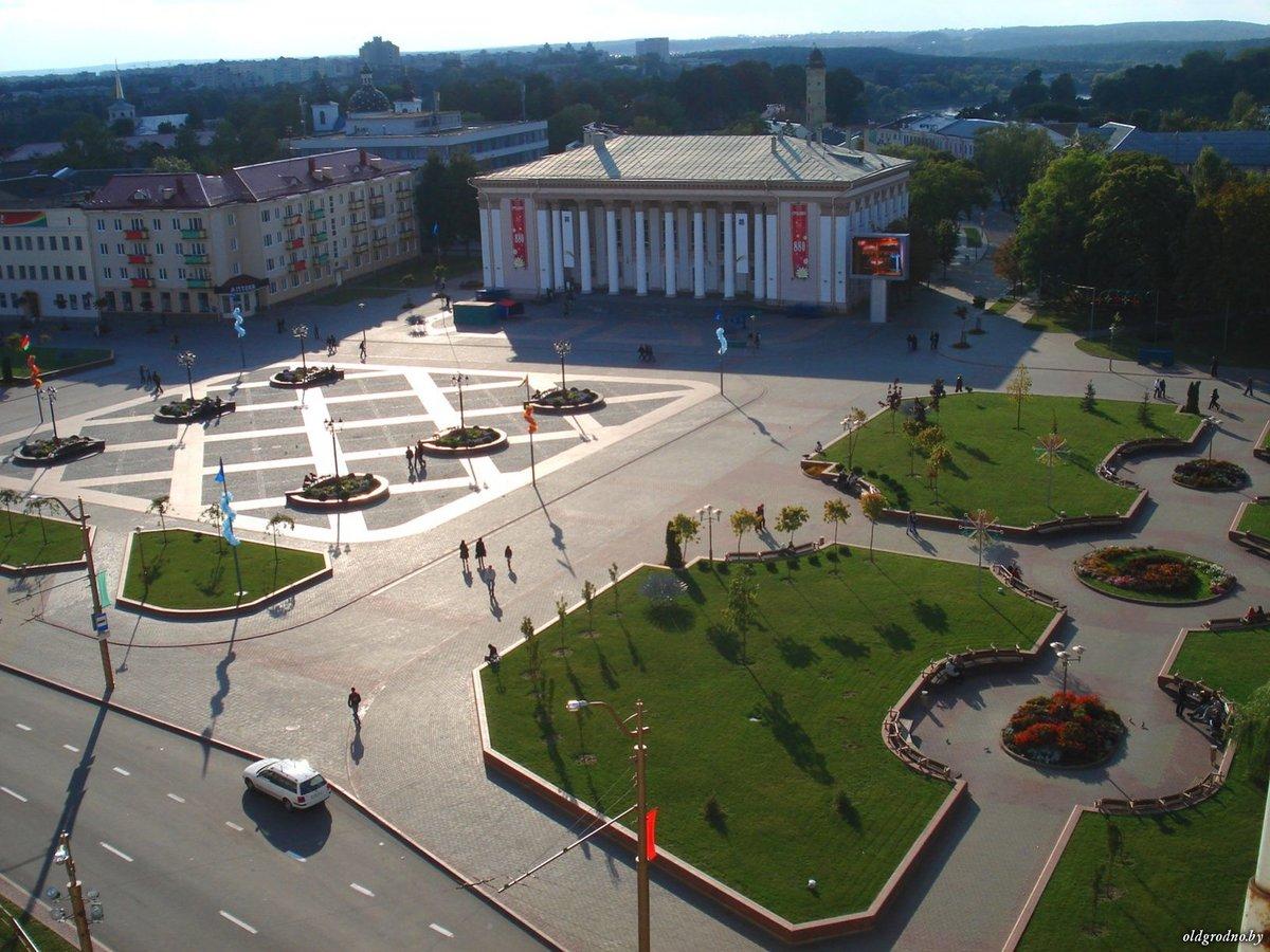 площадь советская фонтан гродно фото сообщит