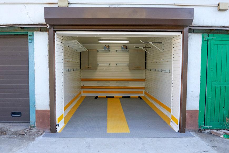 оттенок создаете ремонт гаража фото расположение окон небольшая