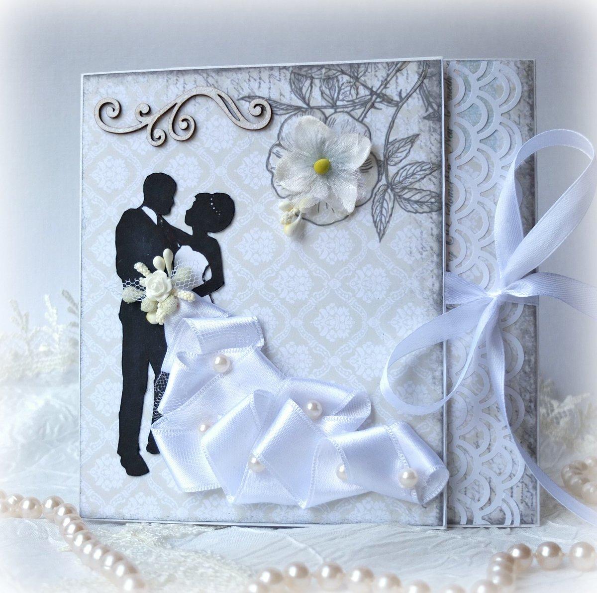 Оформление открытки к годовщине свадьбы, поздравлением